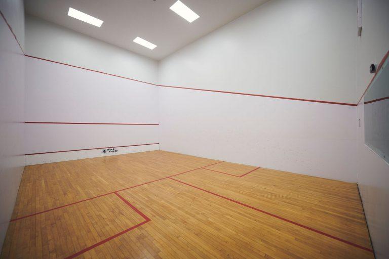 Squash courts at the CBS Rec Complex
