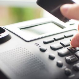 Town Conducting Telephone Survey
